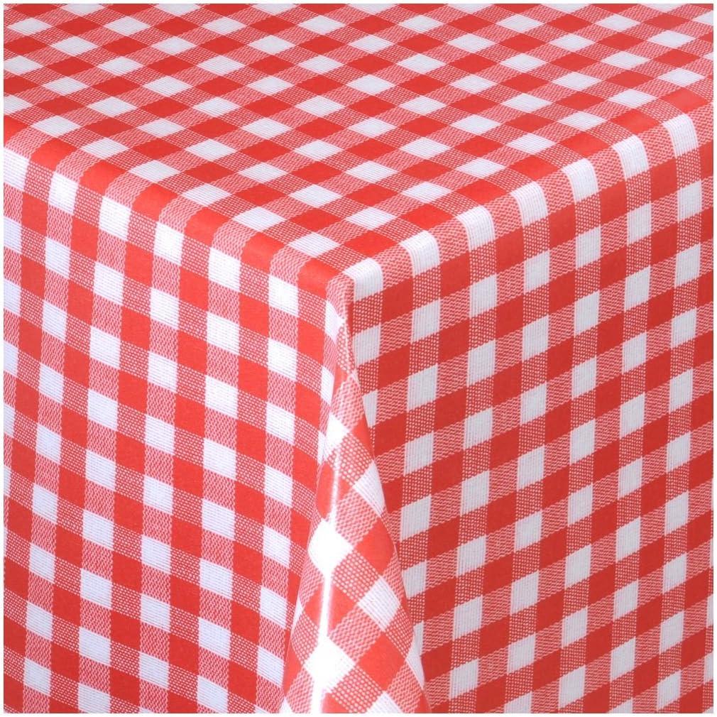 Wachstuch Tischdecke abwaschbar Gartentischdecke Meterware Einefarbig Türkis Öko