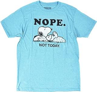 Men's Snoopy Heathered Tee