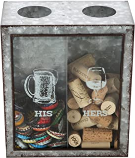 Best his and hers bottle cap and cork holder Reviews
