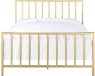 Best brushed gold bed frame Reviews
