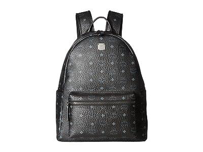 MCM Stark No Stud Medium Backpack (Black) Backpack Bags