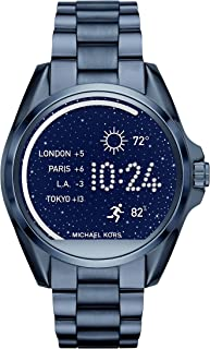 Michael Kors Access, Women's Smartwatch, Bradshaw Navy-Tone Stainless Steel, MKT5006