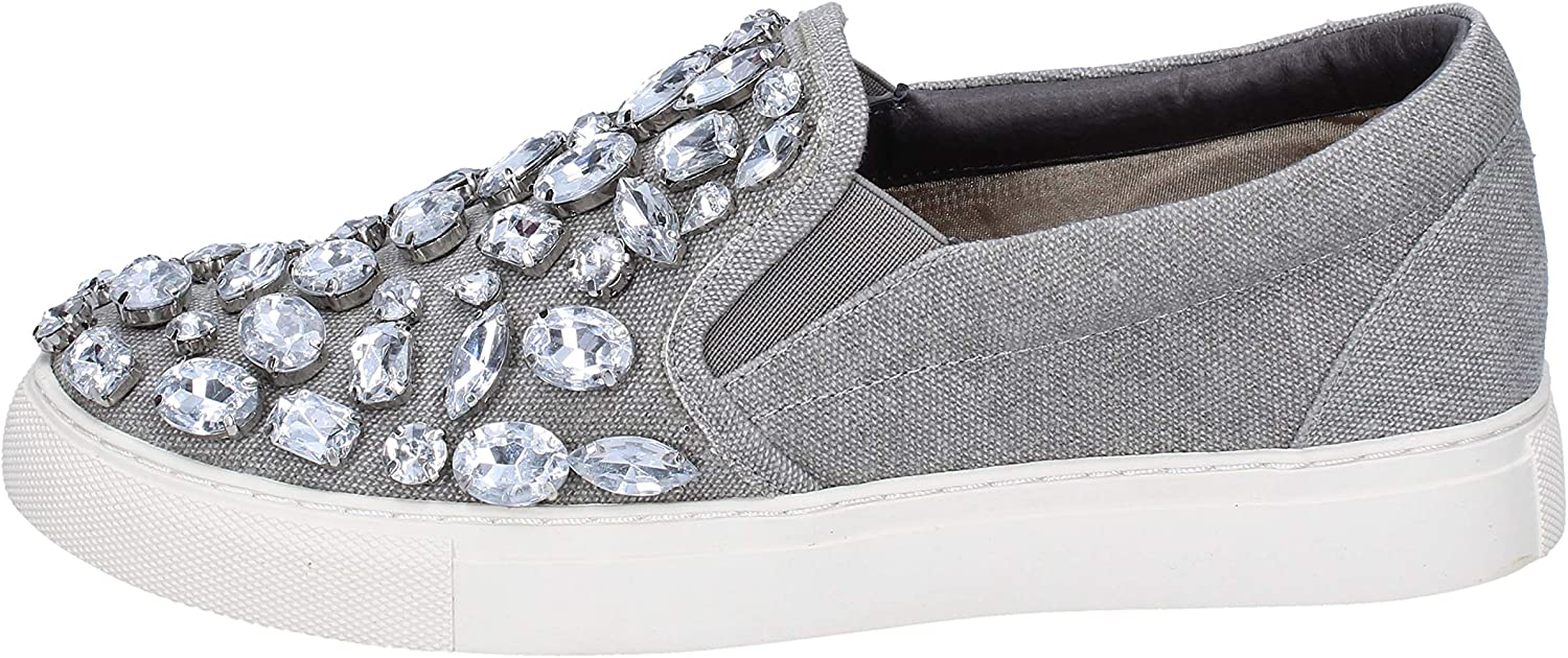 SARA LOPEZ Loafers-shoes Womens Grey