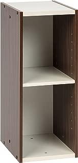 IRIS USA, , Narrow Space Saving Shelf with Adjustable Shelf, 10 x 23