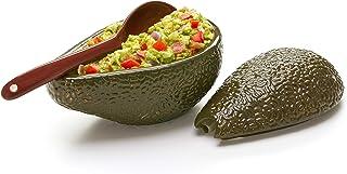 Prepworks by Progressive Guacamole Bowl with Spoon - Great for serving Homemade Guacamole, Avocado Dip, Guacamole Serving Tray