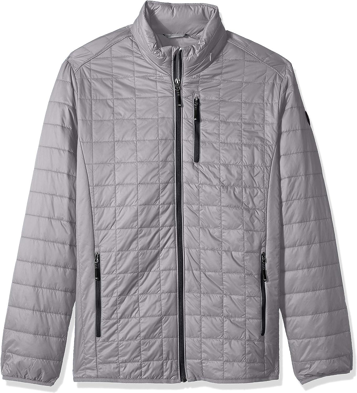 Cutter & Buck mens Weather Resistant Primaloft Down Alternative Rainier Jacket