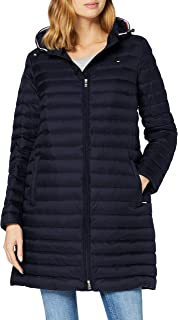 Tommy Hilfiger TH ESS LW Down Packable Coat Chaqueta para Mujer