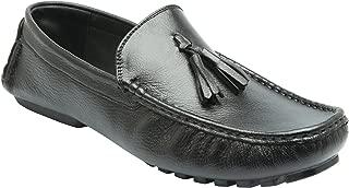 Heels & Shoes Men's Tussel Loafers - Black