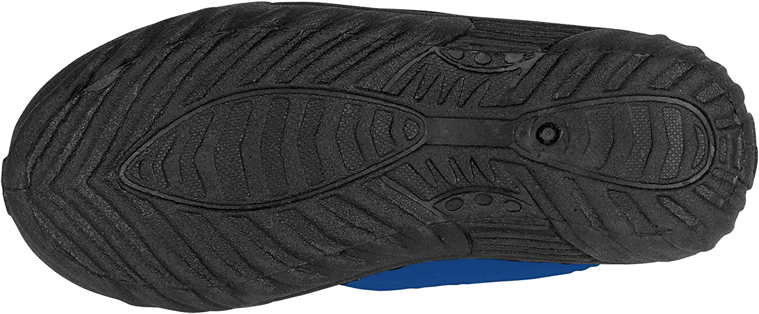 Kids Aqua Shoes Slip-On Athletic Water Shoes for Boys and Girls Quick Dry Aqua Socks with Rugged Sole