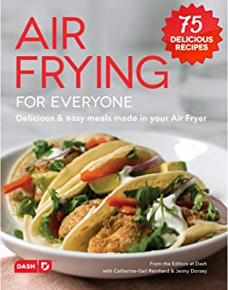 Dash DCB001AF Air Fryer Recipe Book for Healthier + Delicious Meals, Snacks & Desserts, Over 70+ Easy to Follow Guides, Co...