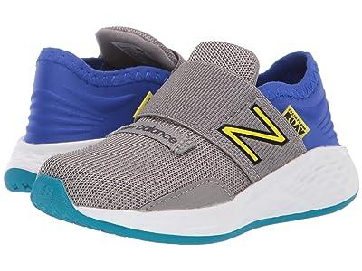 New Balance Kids Fresh Foam Roav (Infant/Toddler) (Marblehead/UV Blue/Sulphur Yellow) Boys Shoes