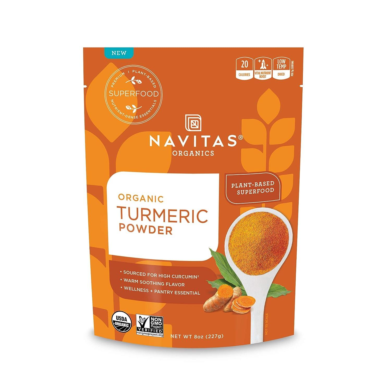 Navitas Organics Turmeric Powder In a popularity 8 — oz. Bag Servings 45 Max 56% OFF
