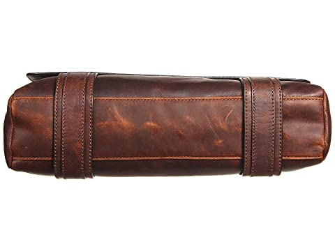 Brown Dark Logan Up Messenger Pull Antique Frye wqaExtCOw