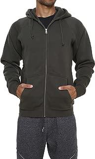 Men's Sweatshirt Hoodies Full Sleeve-Front Zip Premium Hood 2 Split Pocket