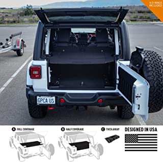 GPCA Cargo Cover LITE for Jeep Wrangler JL 4DR Sports/Sahara/Freedom/Rubicon Unlimited 2018-2019 Model (Under Hardtop) (Un...