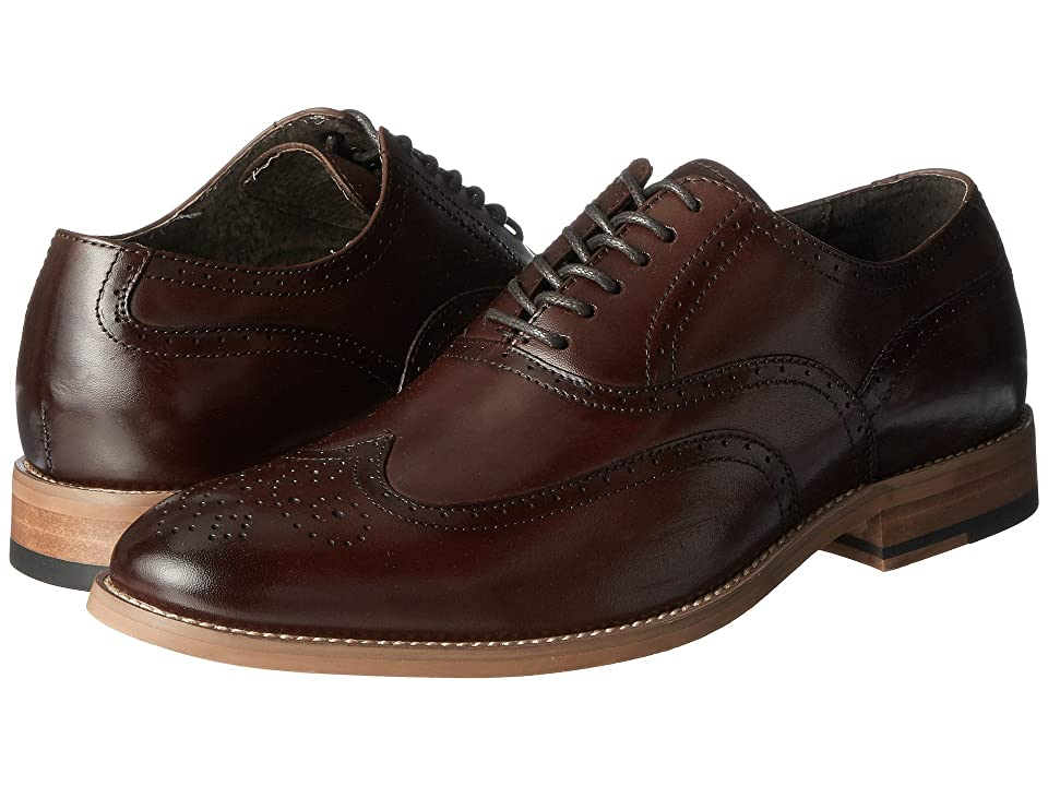 Stacy Adams Dunbar Wingtip Oxford (Brown) Men