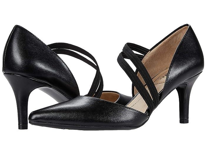 Vintage Shoes, Vintage Style Shoes LifeStride Samantha Black Womens Shoes $59.94 AT vintagedancer.com