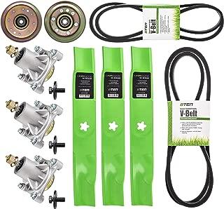 8TEN Blade Spindle Belt Idler Rebuild Kit for Craftsman 48 Inch Deck GT5000 532173921 33908 532174368 532177968