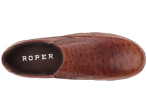 Uppertan Imprimé Brun Owen Roper Cuir Supérieure Autruche Caïman wfY7gq