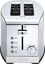 KRUPS KH732D50 2-Slice Toaster, Stainless Steel Toaster, 5 Functions with Cancel,..