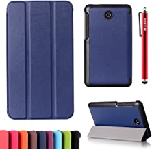 ASUS Fonepad 7 FE7530CXG - Replacement Excellence Wallet Style Flip Cover Case for ASUS Fonepad 7 FE7530CXG ONLY (ASUS Fonepad 7 FE7530CXG Cover Dark Blue)