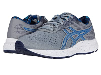 ASICS Kids GEL-Excite 7 (Little Kid/Big Kid) (Sheet Rock/Tuna Blue) Boy