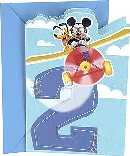 Hallmark 2nd Birthday Card (Disney Mickey Mouse)