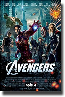 Avengers 1st Poster Movie Promo 11 x 17 inches Main