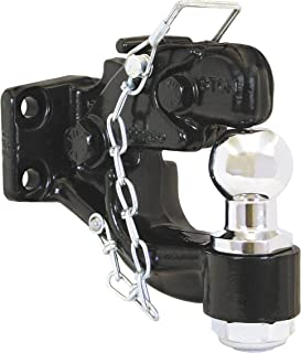 Buyers Products (BH850MM) 8-Ton Combination Hitch, 50 Millimeter Ball
