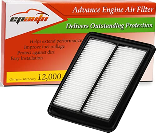 wholesale EPAuto GP858 (CA11858) Replacement for Nissan Extra Guard Rigid Panel Air Filter high quality for Rogue (2014-2020), Rogue outlet online sale Sport (2017-2020) sale