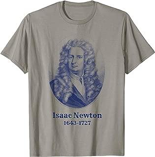 Isaac Newton T-Shirt. Isaac Newton Science Astronomy Tee