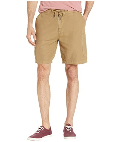 Reyn Spooner Linen Cargo Shorts (Winter Twig) Men