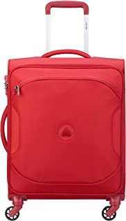 Delsey Paris 00324881004 Children's Softside Luggage, Red, 68 Centimeters