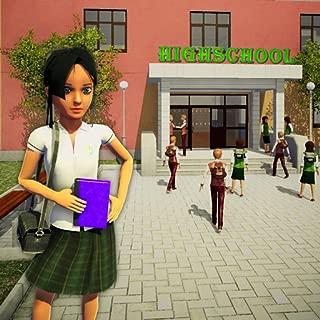 School Girl Simulator: Fun High School Games For Kids