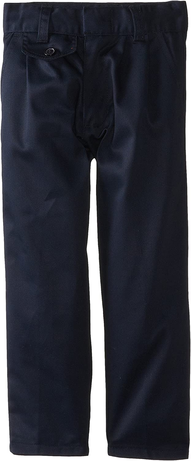 Genuine Little Girls' Twill Pleated Pants with Coin Pocket