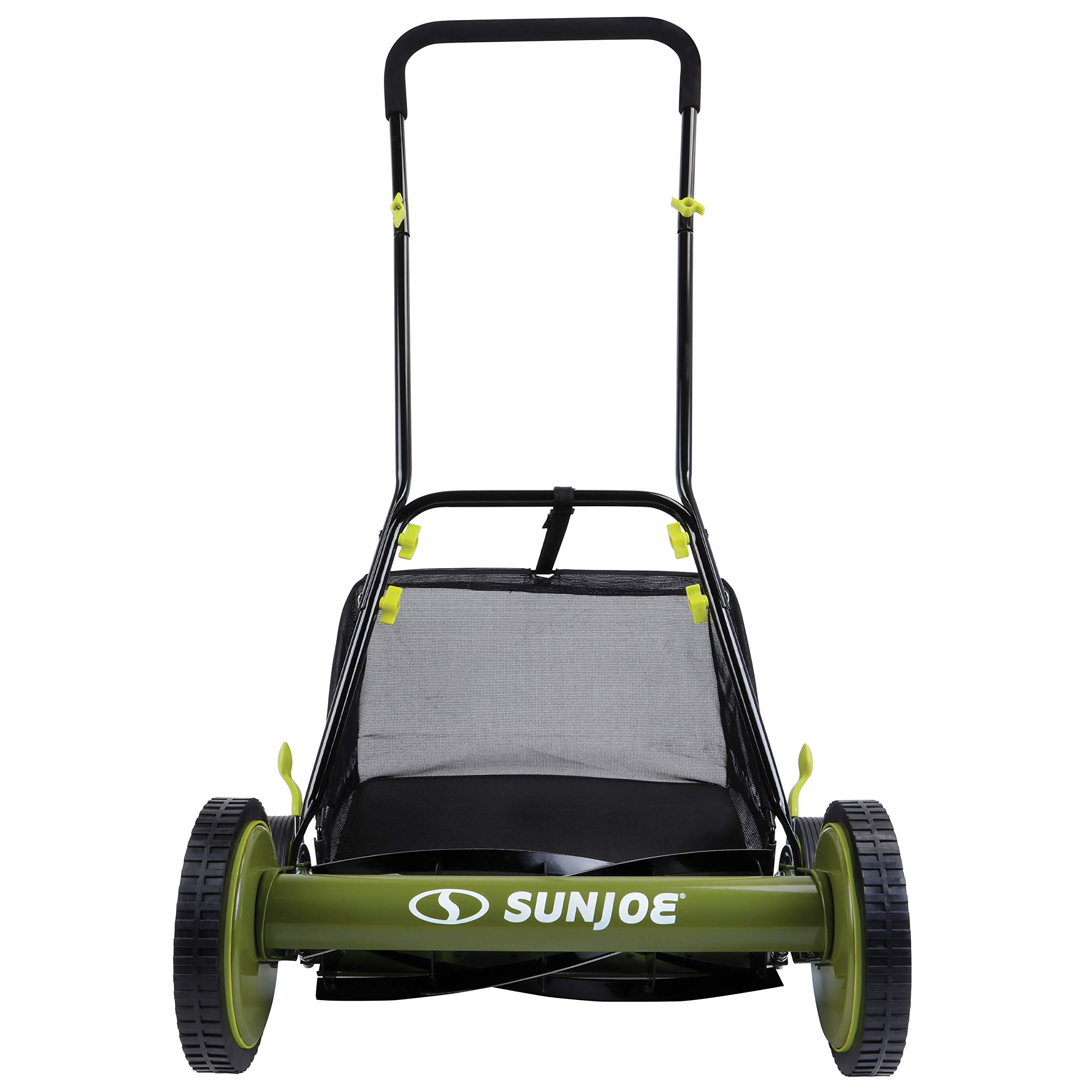 Push Reel Mower with Collection Bag New Greenworks 25062 18 in