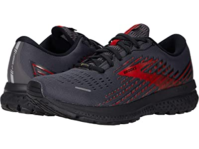 Brooks Ghost 13 GTX(r) (Black/Ebony/Red) Men