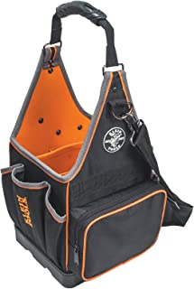 Klein Tools 554158-14 Tradesman Pro Tote with 20 Pockets Made of 1680d Ballistic Weave and a Fully Molded Bottom, 8-Inch