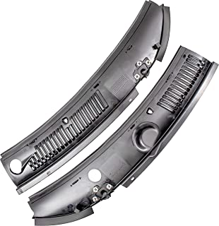 APDTY 141389 Windshield Wiper Replacement Plastic Cowl Grille Fits 1999-2004 Ford Mustang (Fits Outside Bottom Of Front Windshield ; Replaces 3R3Z-6302228-AAA, 3R3Z6302228AAA)