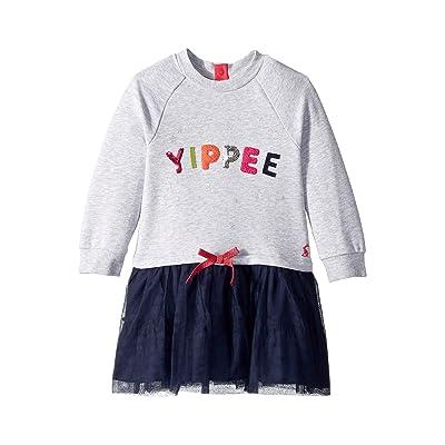 Joules Kids Layered Tutu Dress (Toddler/Little Kids) (Grey Yippee) Girl