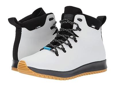Native Shoes AP Apex CT (Mist Grey CT/Jiffy Black/Natural Rubber) Shoes