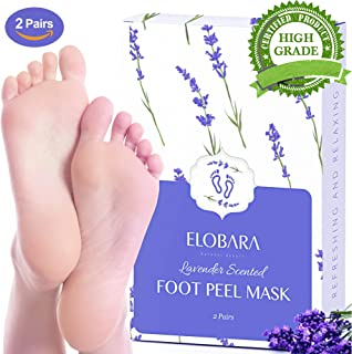 Foot Peel Mask, Exfoliating Calluses and Dead Skin for Soft Baby Feet, 2 Pairs, Repair Rough Heels Painlessly, Leave Your ...