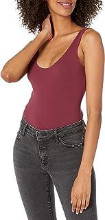Amazon Brand Mae - Body de Mujer con Cuello Redondo (Talla Mediana), Color