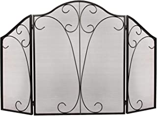 Best arched fireplace screens Reviews