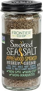 Frontier Smoked Applewood Sea Salt, 2.4 Ounce
