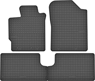 Fußmatten Autoteppiche für Toyota Yaris Bj.ab 1999-2005 5-türig schwarz