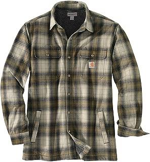 Men's Hubbard Sherpa Lined Shirt Jacket (Regular and Big & Tall Sizes)