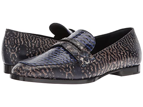 Bottega Veneta Mixed Print Loafer