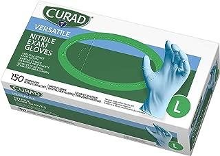 Curad Nitrile Exam Gloves, Latex Free, 9.5