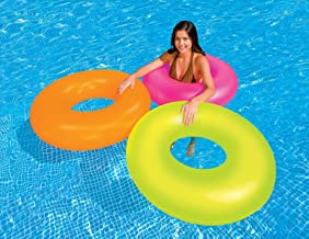 Intex Frost Tube Inflatable Sturdy Swim Pool, 36